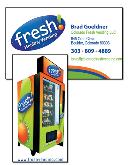 Imagination technology business cards business card for brad goeldner of fresh health vending colourmoves